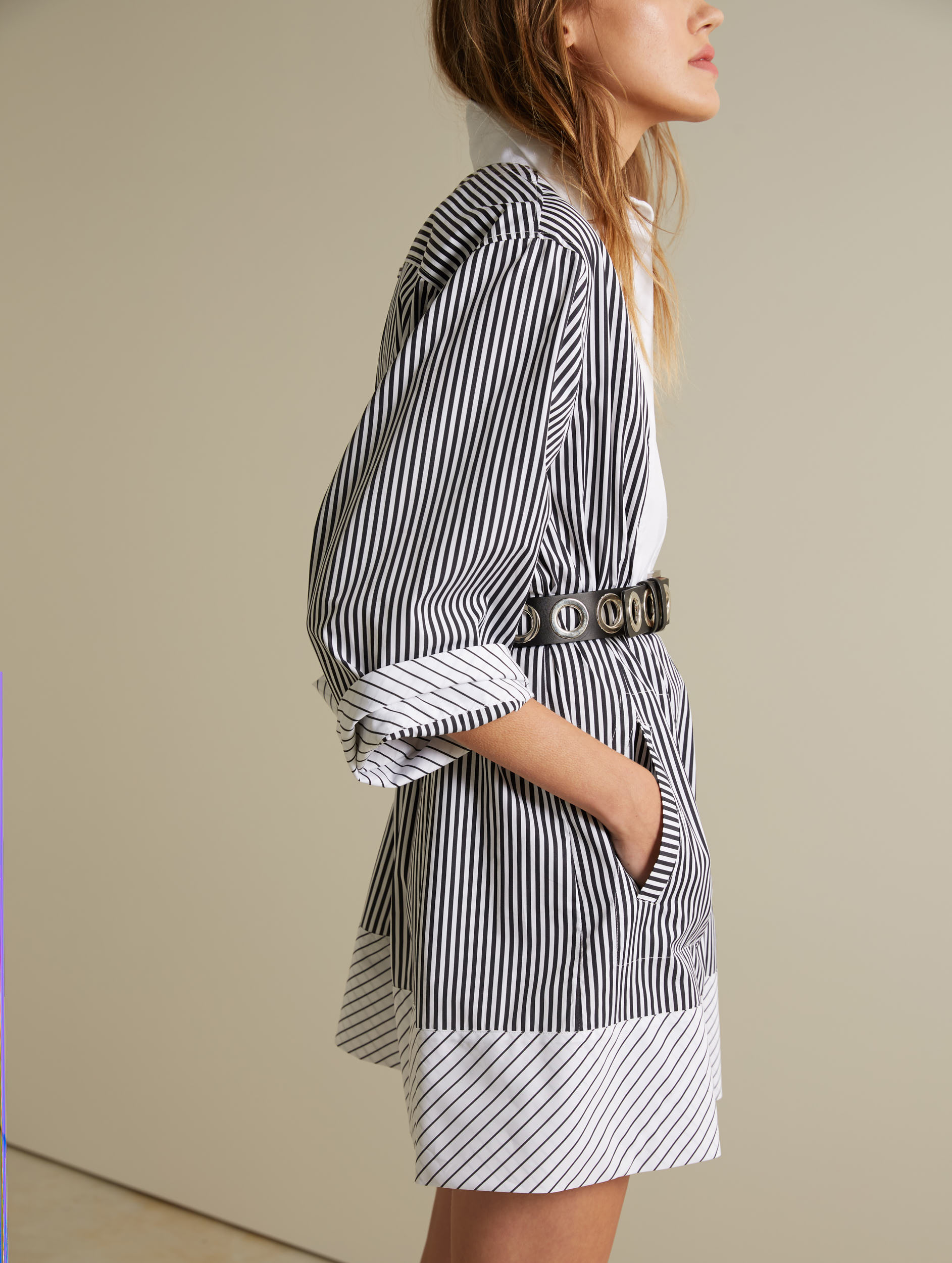 Cotton Poplin Shirtdress Barbara Bui