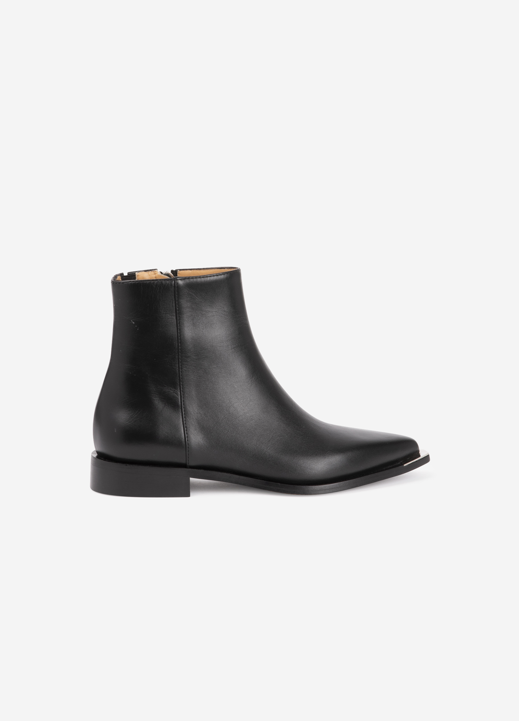 Pointed toe leather low-boots | Barbara Bui
