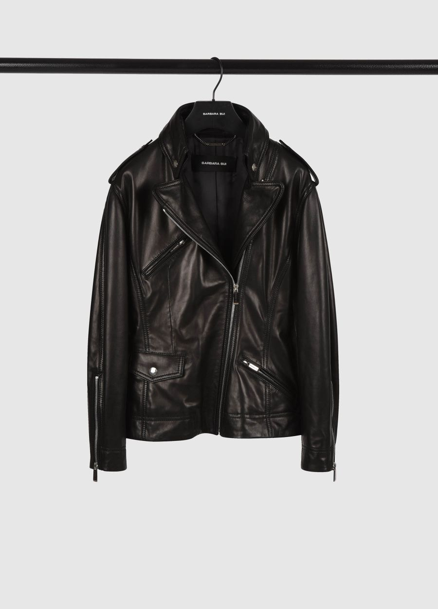 Leather 80's perfecto jacket