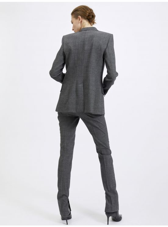 Strech alpaca tailored jacket