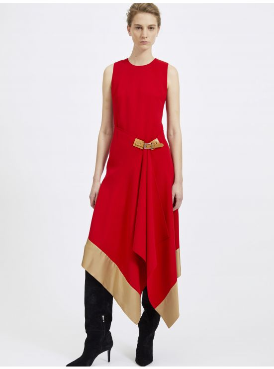 Crepe pareo dress - 3 in 1 set