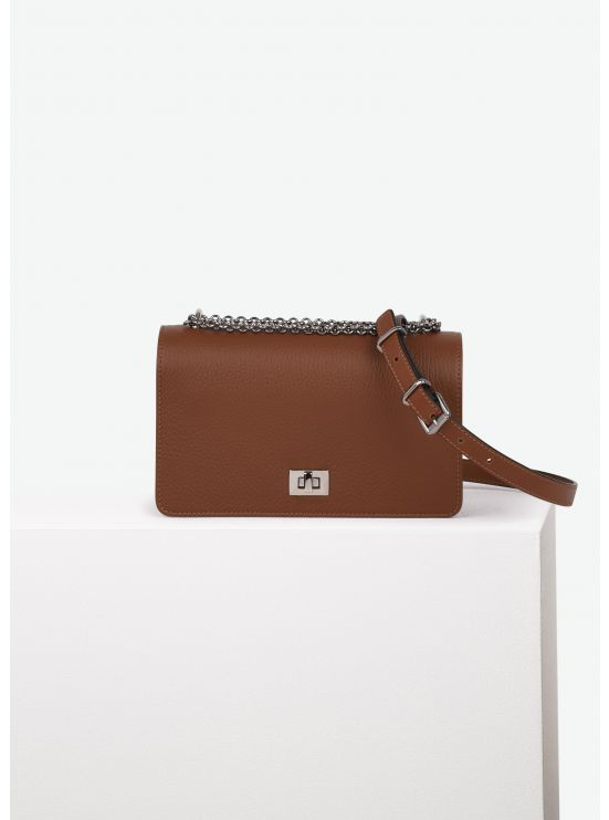 Grained leather Multipass bag