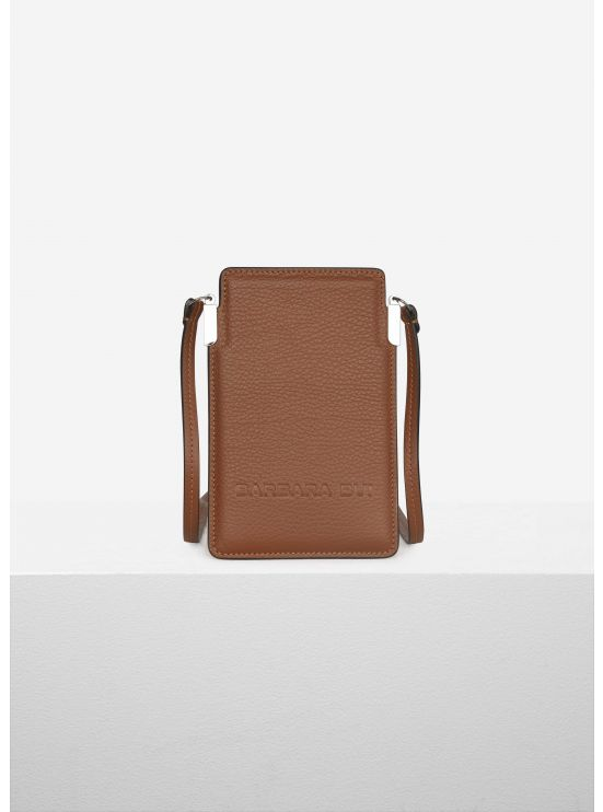 Grained leather Smartbag