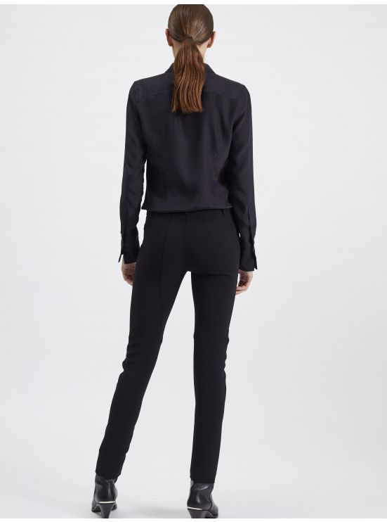 Crepe riding trousers