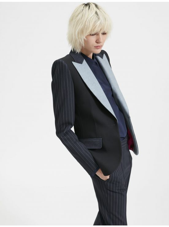 Mix & match suit jacket