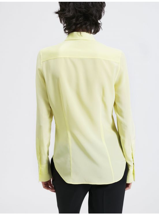 Silk crepe shirt