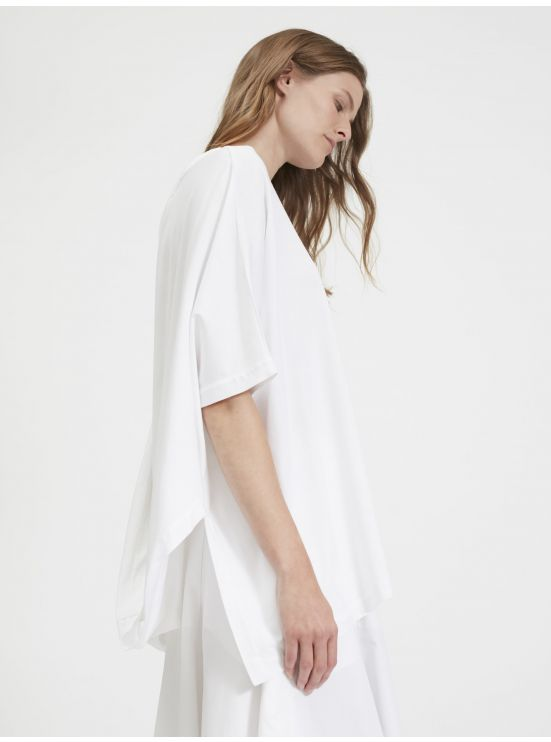 Nacked back oversized tee-shirt