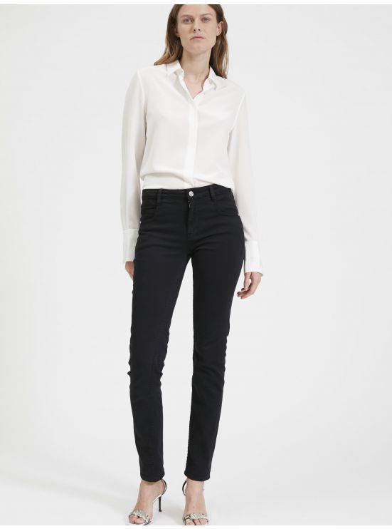 Five-pocket cotton jeans