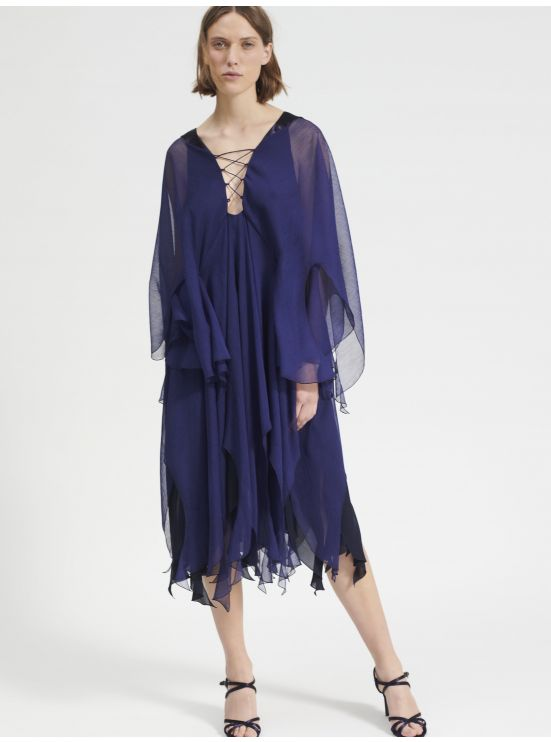 Chiffon light dress