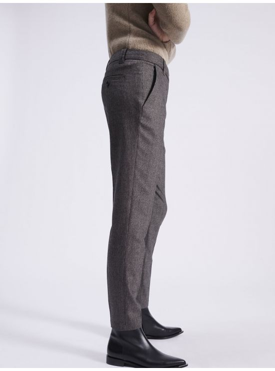 "Caviar wool and cashmere ""Roxy"" trousers"