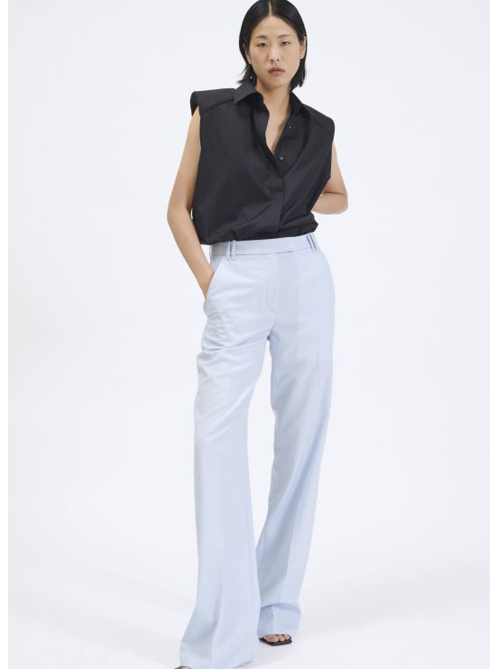 Large crepe trousers