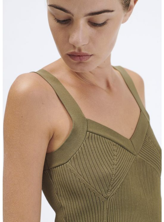 Ribbed knit camisole