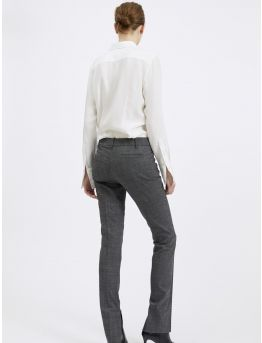 Pantalon slim en alpaca stretch