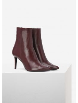 Leather low-boots