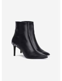 Bottines en cuir