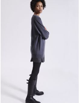 Merino wool knit sweater