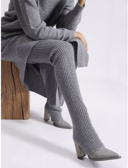 Knitted gaiters