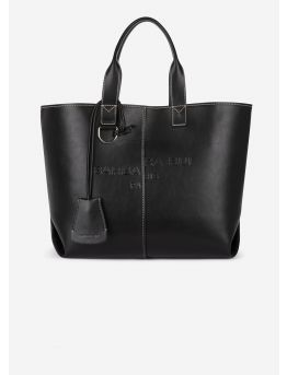 Vegan leather shopper