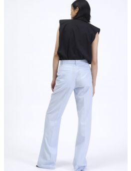 Large wool canvas trousers