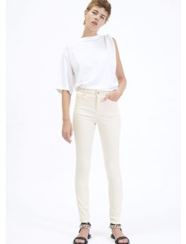5-pocket stretch gabardine trousers